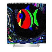 Tropical Cave Fish 2 Shower Curtain