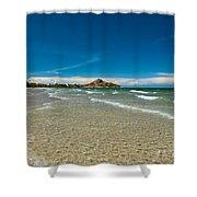 Tropical Destination Shower Curtain