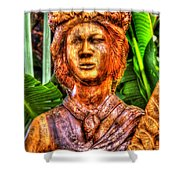 Tropical Farms 4 Shower Curtain