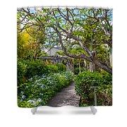 Tropical Garden. Mauritius Shower Curtain