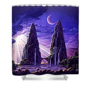 Tropical Hideaway Shower Curtain