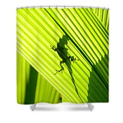 Tropical Living Shower Curtain