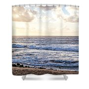 Tropical Morning  Shower Curtain