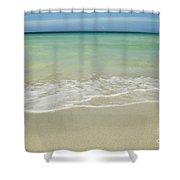 Tropical Ocean Beach Shower Curtain