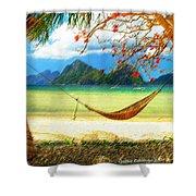 Tropical Peace Shower Curtain