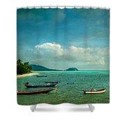 Tropical Seas Shower Curtain
