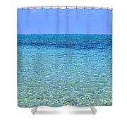 Tropical Seascape Shower Curtain