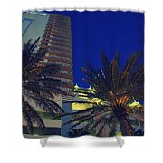Tropical Spot Shower Curtain
