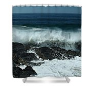 Tropical Storm Marie  Shower Curtain