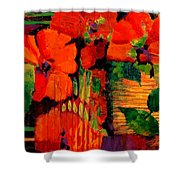 Tropical Tapestry Shower Curtain