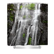 Tropical Torrents Shower Curtain