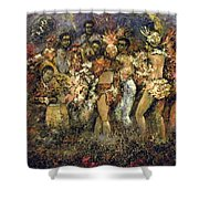 Tropicana Havana Shower Curtain