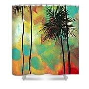 Tropics By Madart Shower Curtain