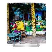 Tropics In Ok Shower Curtain