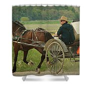 Trot On Shower Curtain