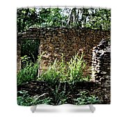Troup Factory Shower Curtain