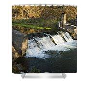 Trout Run Creek Dam 1 Shower Curtain