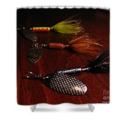 Trout Temptation Shower Curtain