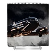 Trubute To Heroes Shower Curtain