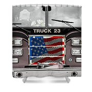 Truck 23 Shower Curtain