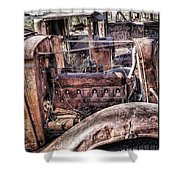 Truck 4 Shower Curtain