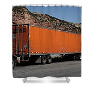 Truck Stop Shower Curtain