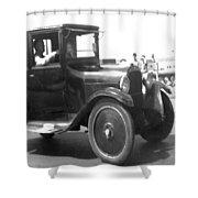 Truck Vintage Shower Curtain