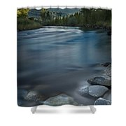 Truckee River Shower Curtain