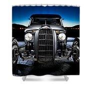Millers Chop Shop 1964 Truckster Frontend Shower Curtain
