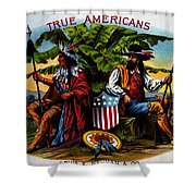 True Americans Shower Curtain