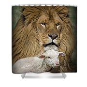 True Companions Shower Curtain