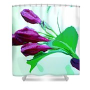 True Love - Beautiful Painting Like Photographic Image Shower Curtain