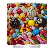 Truffles And Assorted Candy Shower Curtain