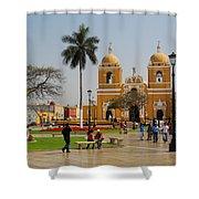 Trujillo Peru Plaza Shower Curtain