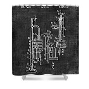 Trumpet Patent Shower Curtain