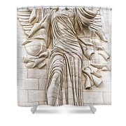 Trumpeting Angel Shower Curtain