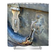 Trunk Picking Shower Curtain