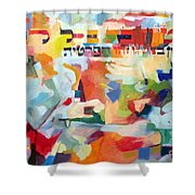 Trust In Hashem With All Of Your Heart Shower Curtain