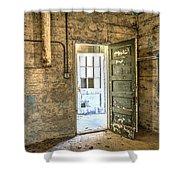 Trustee-2 Shower Curtain