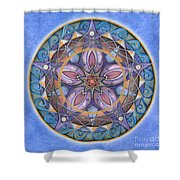 Truth Mandala Shower Curtain