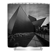 Try Angles Shower Curtain