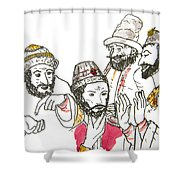 Tsar And Courtiers Shower Curtain