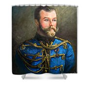 Tsar Nicholas II Of Russia Shower Curtain