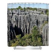 Tsingy De Bemaraha Madagascar 1 Shower Curtain