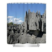 Tsingy De Bemaraha Madagascar 2 Shower Curtain