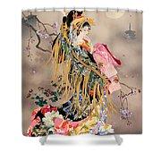 Tsuki No Uta Shower Curtain
