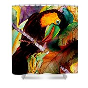 Tu Can Toucan Shower Curtain