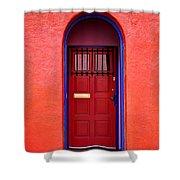 Tucson Doorway Shower Curtain