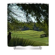 Tucson Foothills Golf Course Shower Curtain