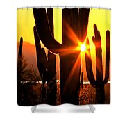 Tucson Sunset Shower Curtain